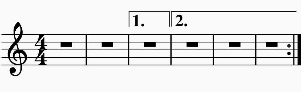 Las casillas de repetición