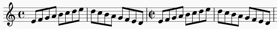 Métrica y compás musical