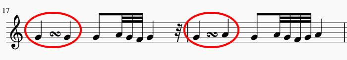 Adornos musicales el grupeto